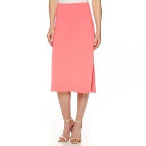 Worthington Womens Side Slit Pencil Skirt 4 8 NEW
